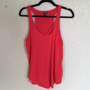 Express Tank Top Red Medium